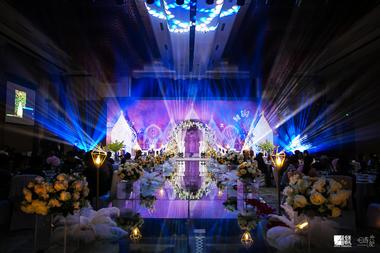 创意高端酒店婚礼 皇冠假日三楼宴会厅