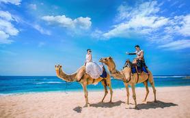 巴厘岛【轻奢人气套餐】蓝点教堂♥沙滩骆驼♥情人崖
