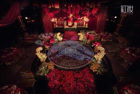 欧式复古宫廷花园婚礼布置--夜莺与玫瑰