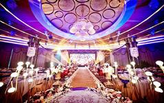 「念和」《幔延》 大气紫金色系 彭年婚礼