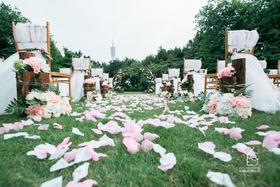 户外小清新婚礼《拾时光》