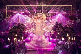 【喜堂婚礼策划】南通海门酒店 欧式婚礼布置
