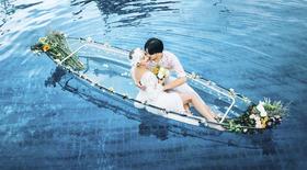 小清新婚纱照——【水晶船】一寸光