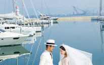 希菲尔全球旅拍【爱情码头】海景风作品欣赏