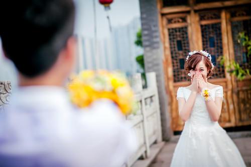 【小清新婚礼】从此,如同向日葵般积极、热情、温暖的一直走下去