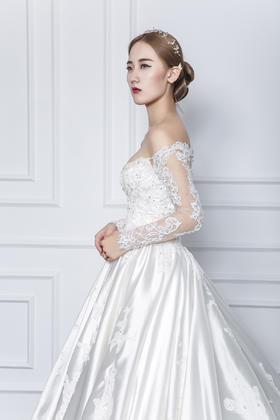 AIDUE BRIDE 欧式宫廷优雅系列婚纱