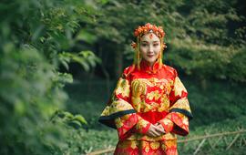 蘭婷高级定制—中式嫁衣租赁