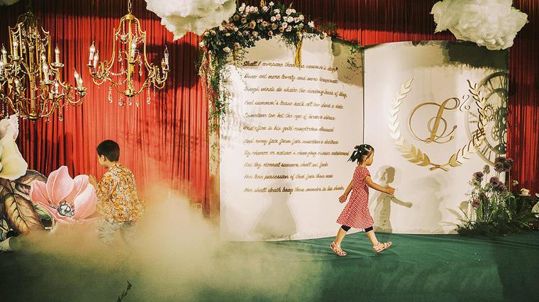 爱丽丝与疯帽子的故事——森系婚礼