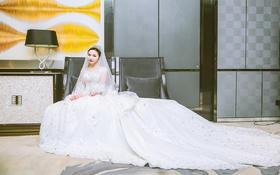 【梵古婚纱】 西式迎宾纱   仪式纱