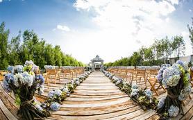【珮珣婚礼】花团锦簇原生态公园户外婚礼