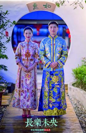 嘉善厂房花好月圆主题中国风婚礼
