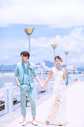 美仑映画-三亚婚纱照【爱情码头】