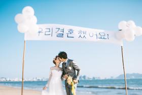 拾光海岸-韩风「沙滩、大海」