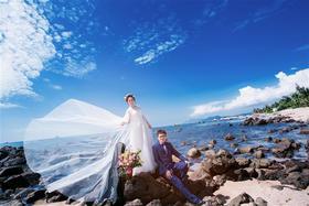 【韩式婚纱照】天涯海角旅拍蜜月最美的年华送给曾先生夫妇