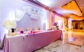 中小型浅紫深紫婚礼 浪漫温馨 含四大金刚 回酒店