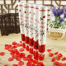 新款结婚用品婚庆礼花筒礼炮庆典派对手持礼宾花喷彩花瓣
