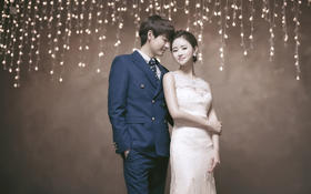 飞色摄影-【爱情的天空没有流星】韩式婚纱照