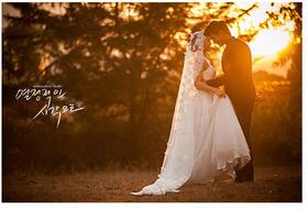 【森系婚纱照】爱在夕阳下 我与你翩翩起舞