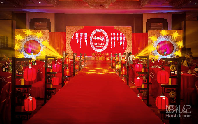 弘润华夏-红色中式主题婚礼