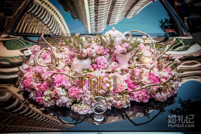【蜜思婚礼】限时特惠 欧式洛可可 粉色梦幻含主持图片