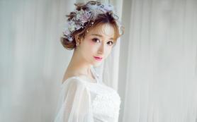 【喜爱婚礼馆】资深全天跟妆日韩式立体清润新娘妆