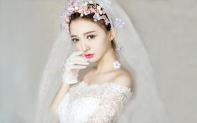 【喜爱婚礼馆】韩式水润陶瓷新娘妆容 (5个造型)