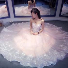 【Lady Jane】彩色出门纱是现在新娘的首选