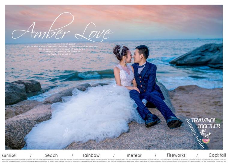 【海景婚纱照】听见夜色下的大海,我与你最美好的回忆