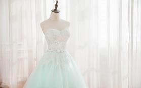 Tiffany高级色,女孩们的梦想嫁纱