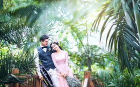 27恒温度热带雨林森林系婚纱摄影