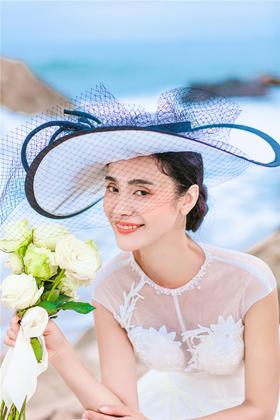 【海洋之星】韩式婚纱样片欣赏 沙滩海景