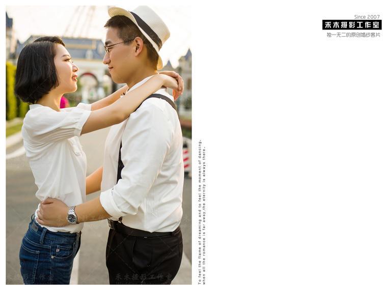 【原创客片】禾木婚纱摄影|摩天轮街拍
