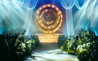 【artisan婚礼匠】银灰色森系创意年轮婚礼