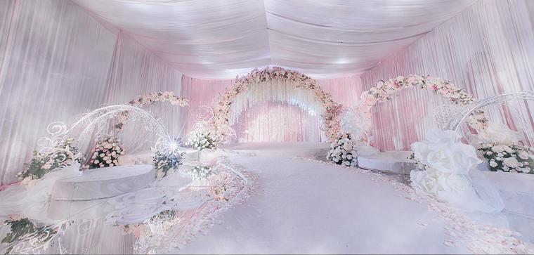 Dancing Rose清新婚礼鲜花布置
