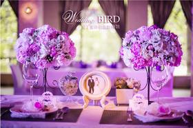 欧式婚礼风 爱丁蜜语创意婚典馆——《薇暖时光》