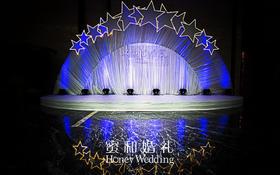 【星空婚礼布置案例赏析】—— 夜空中最亮的星