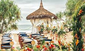 伴侣婚礼订制  清新海洋风