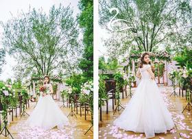 【瀚棠艺术婚礼】梦幻创意婚礼【浓情花意】