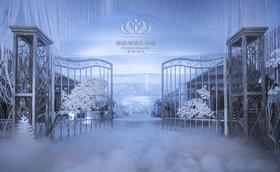 冰雪主题婚礼——在那场初雪遇见你,遇见一生最大的幸运