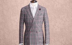 红领定制 —— 英伦格子西装