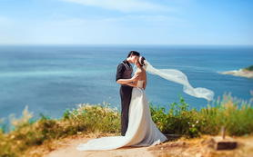 青岛奢华摄影基地拍摄婚纱摄影套餐