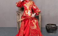 (模特同款3件套)冬款结婚敬酒服长款中式嫁衣龙凤褂