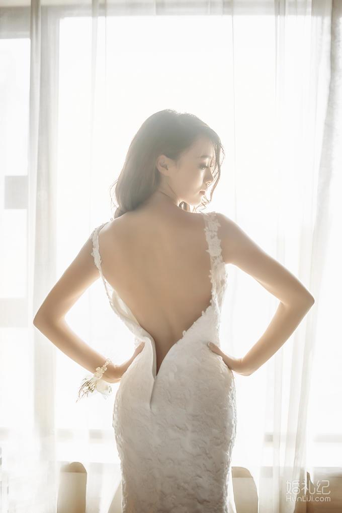 【艾米丽妆点】化妆总监敏敏新娘跟妆