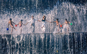 巴厘岛♥东部情人瀑布+无边泳池+水宫特色之旅