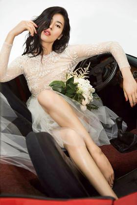 #SHINEMODA 星光# 刘雯同款婚纱礼服