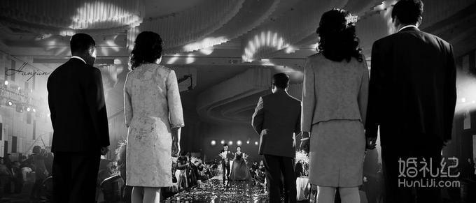 韩军工作室总监婚礼摄影双机位