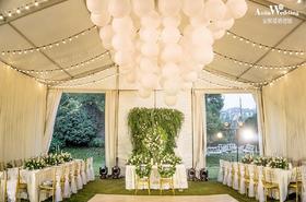 欧式小清新婚礼布置 安妮塔婚礼馆 | 微风 湖畔晚宴
