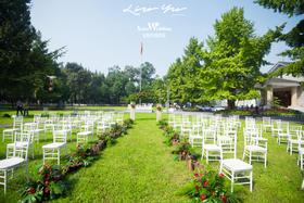 户外草坪婚礼 安妮塔婚礼馆 | 花房姑娘