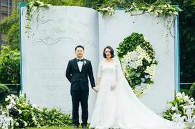 在最合适的时候 让我遇见了最合适的你#小清新婚礼