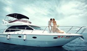 「游艇出海」三亚·时光海婚纱摄影